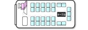 中型バス(定員27名)